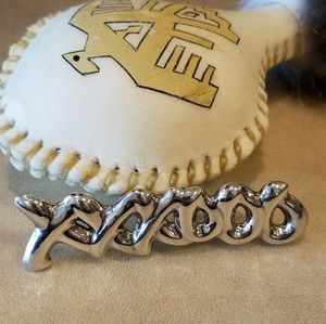 Taxco Mexico .925 Hugs & Kisses Sterling Brooch